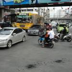 A primeira impressão de Bangkok