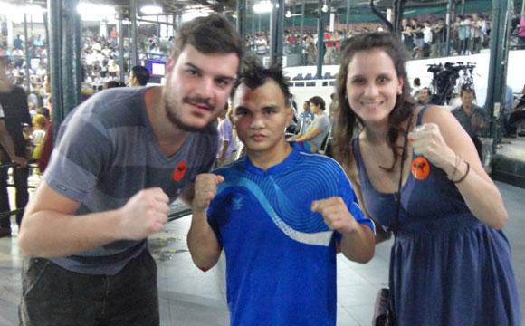 boxe tailandes campeão