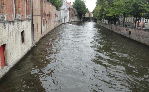 Rios em Bruges
