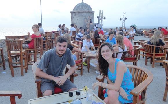 Café del Mar em Cartagena