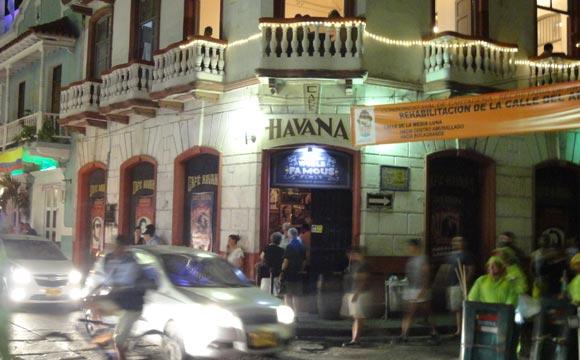 Café Havana Cartagena