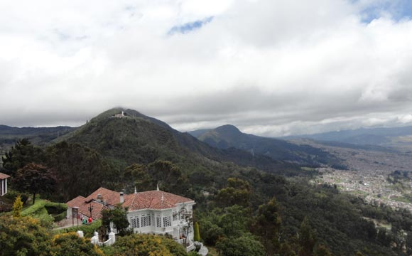 monte serrat em Bogotá