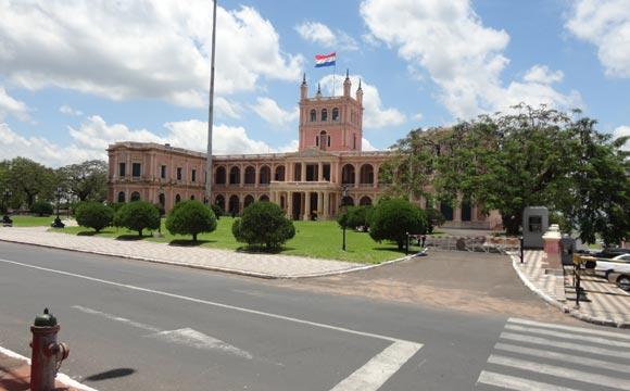 Palácio em Assunção