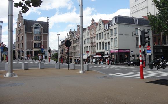 Ruas de Bruxelas