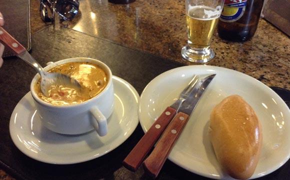 Sopa de Surubi