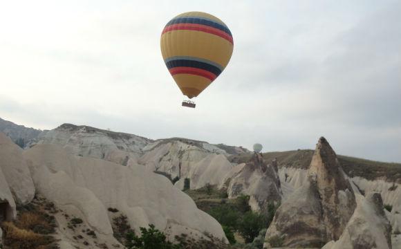 passeio de balão capadócia