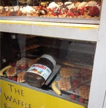 waffle-nutella