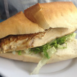 Sanduíche de peixe – Um programa de domingo