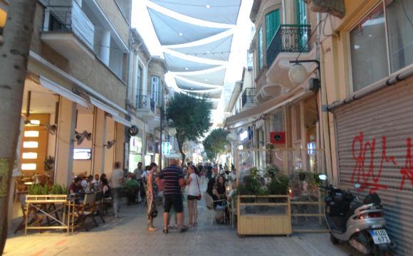 Rua principal de Nicosia