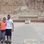 Uma aula de história ao vivo em Luxor