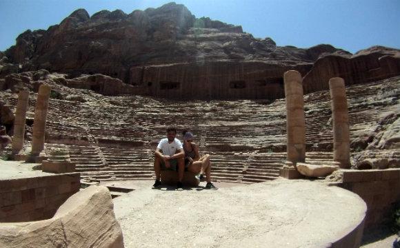 teatro romano em petra