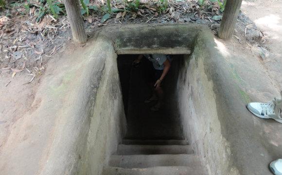 Cu Chi Tunel