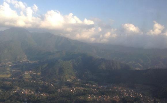 Kathmandu visto de cima. O que esperar?