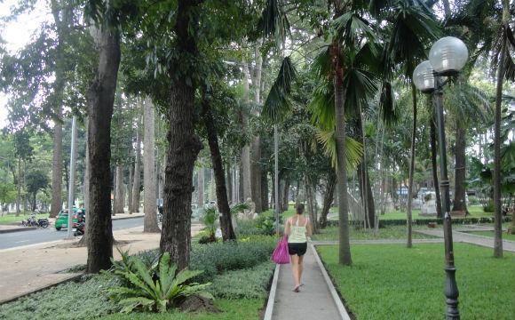 Um alívio no meio de Ho Chi Mihn