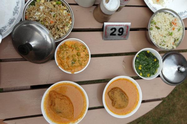 Comida indiana realmente surpreendeu