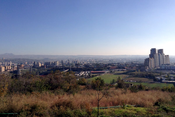 Vista de Yerevan