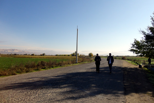 estrada-khor-virap-armênia