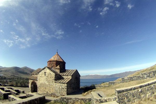 Uma das vistas mais bonitas da Armênia