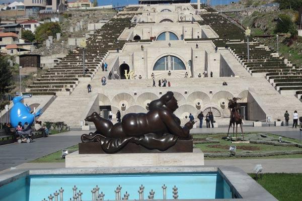 Museu de Arte Moderna em Yerevan