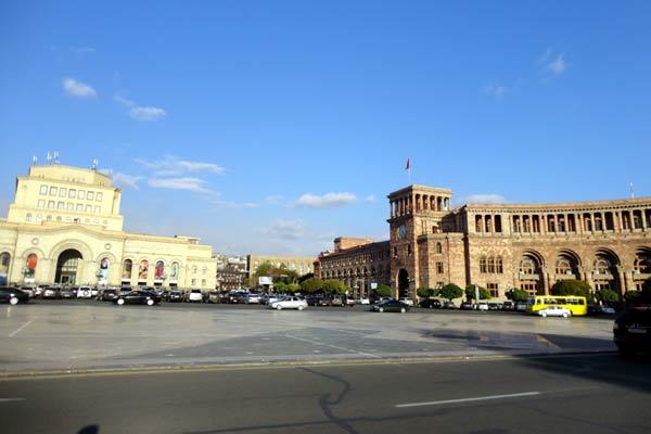 Republic Square de dia