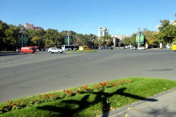 Ruas de Yerevan
