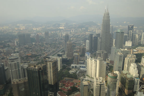 Vista da Petronas Towers