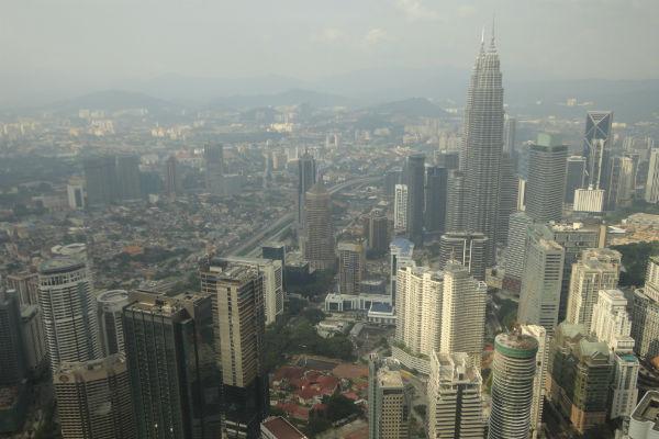 Vista da Petronas Towers