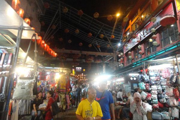 Chinatown em Kuala Lumpur