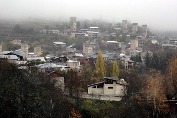 """Mestia é a """"capital"""" de Svaneti"""