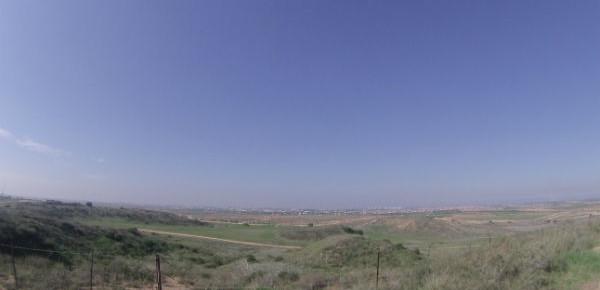 A hoje tranquila divisão entre Gaza e Israel