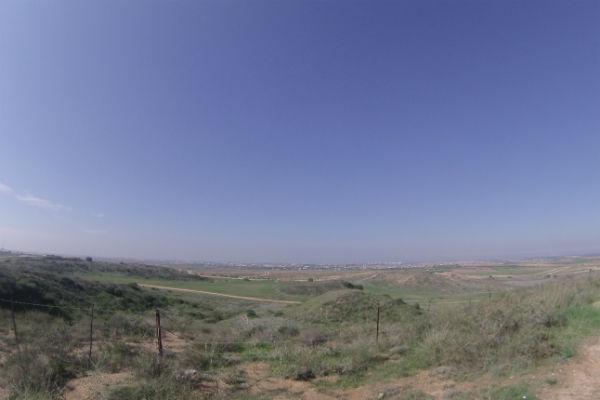 Fronteira que separa Israel de Gaza