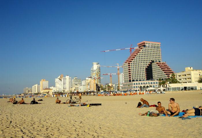 Israel praias
