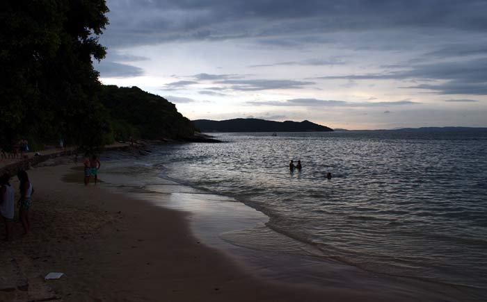Praia Azeda foi a que mais gostamos