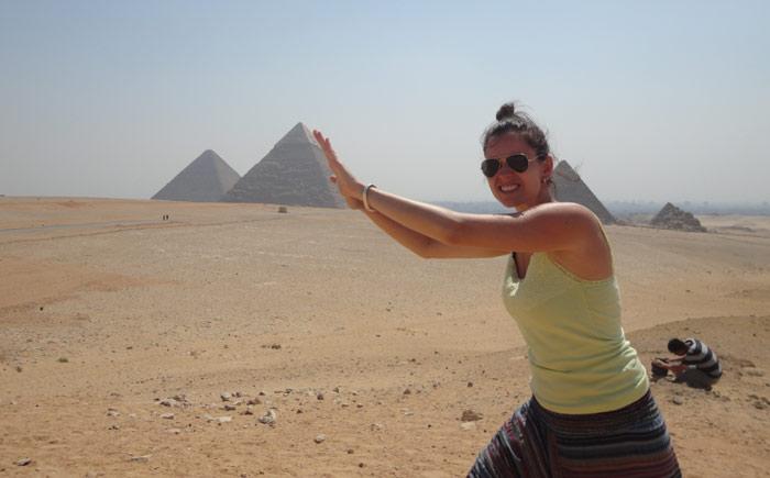 Um empurrãozinho para o Egito