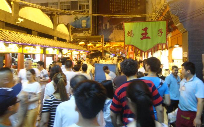 Um passeio pelas ruas da China é assim...