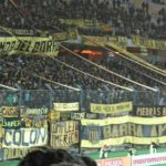Jogo do Peñarol com Los Carboneros no Uruguai