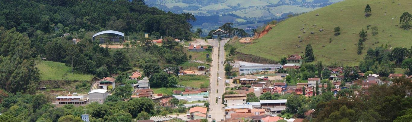 Gonçalves, escondida entre as montanhas da Mantiqueira